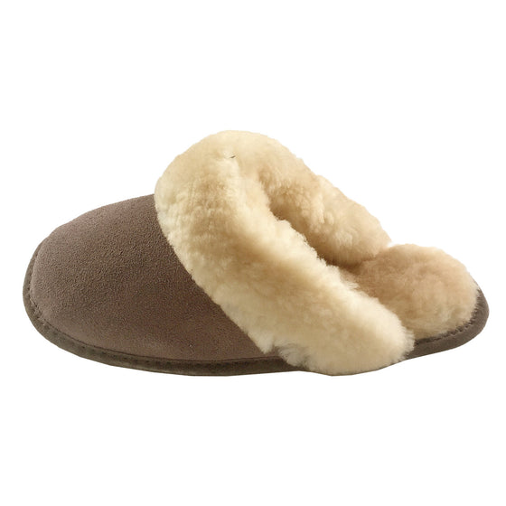 Women's Clearance Slip-On Sheepskin Slippers (Size X-Large ONLY)