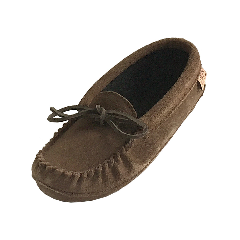 Women's Fleece Lined Suede Memory Foam Moccasins 7710L (Size 5  ONLY)