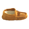 Women's Fringed Soft Sole Suede Beaded Moccasins