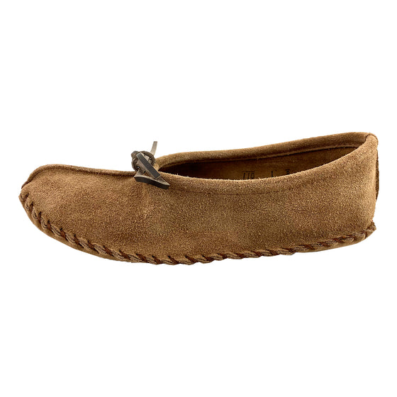 Women's Ballet Suede Moccasin Slippers