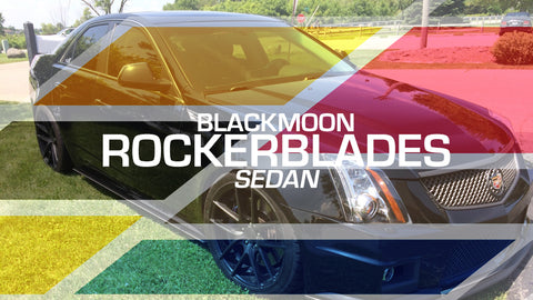Black Moon Products Rocker Blades - Sedan