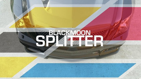Black Moon Products Splitter w/ 3 Piece Skid Plates