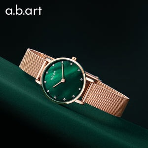 Green Pearl Lady Watch 26mm