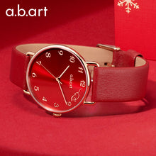 Load image into Gallery viewer, Chinese custom red watch for the year of the rat
