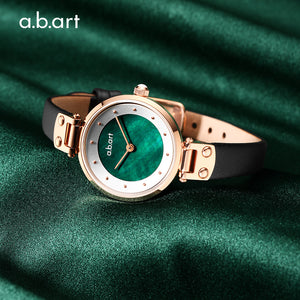 Green Vintage Lady Watch 28mm