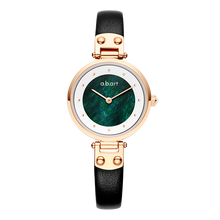 Load image into Gallery viewer, Green Vintage Lady Watch 28mm