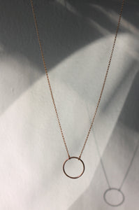 Round Ring Necklace