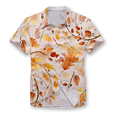 Autumn Dance Button Shirt