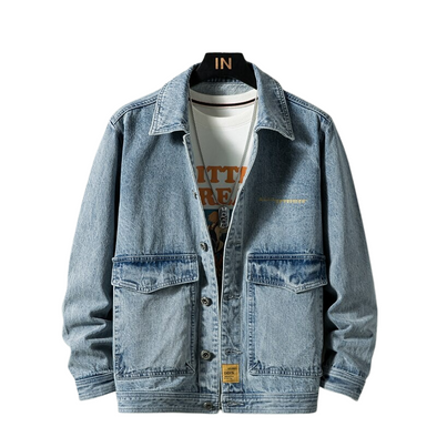 Urban Big Pocket Denim Jacket