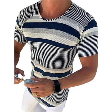 Slim Fit Knitted T-Shirt
