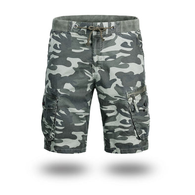 Outdoor Camouflage Cargo Shorts