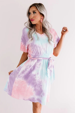 Twist Tie Dye Dress