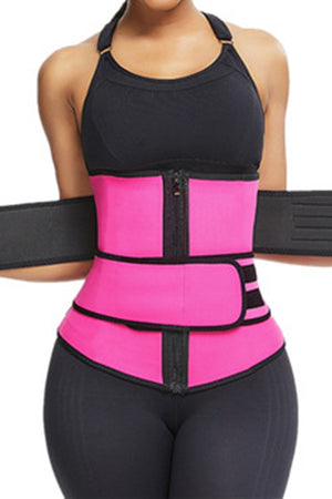 Rose Sauna Sweat Sport Girdles Neoprene Body Shaper