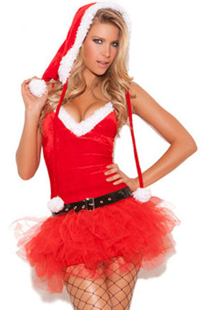 Xmas Miss Santa's Sweetie Costume