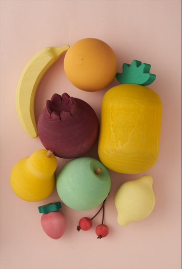 Fruit Wooden Food Set - Volume 1