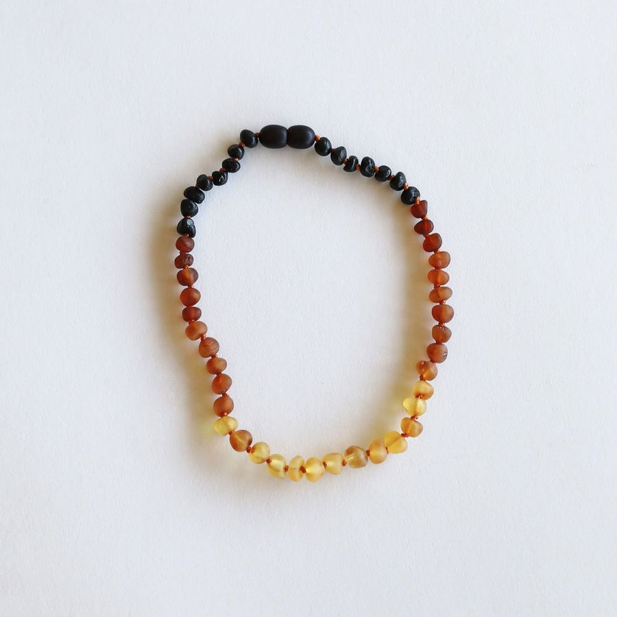Raw Ombre Amber Necklace