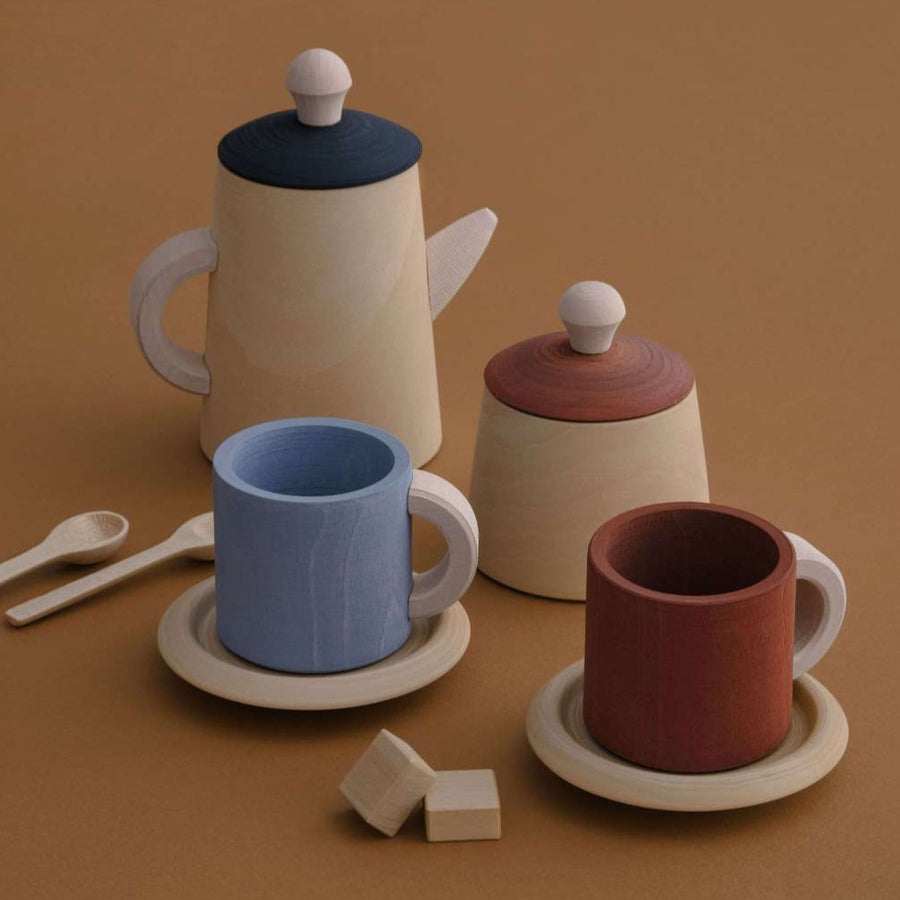 Tea Set - Terra and Blue