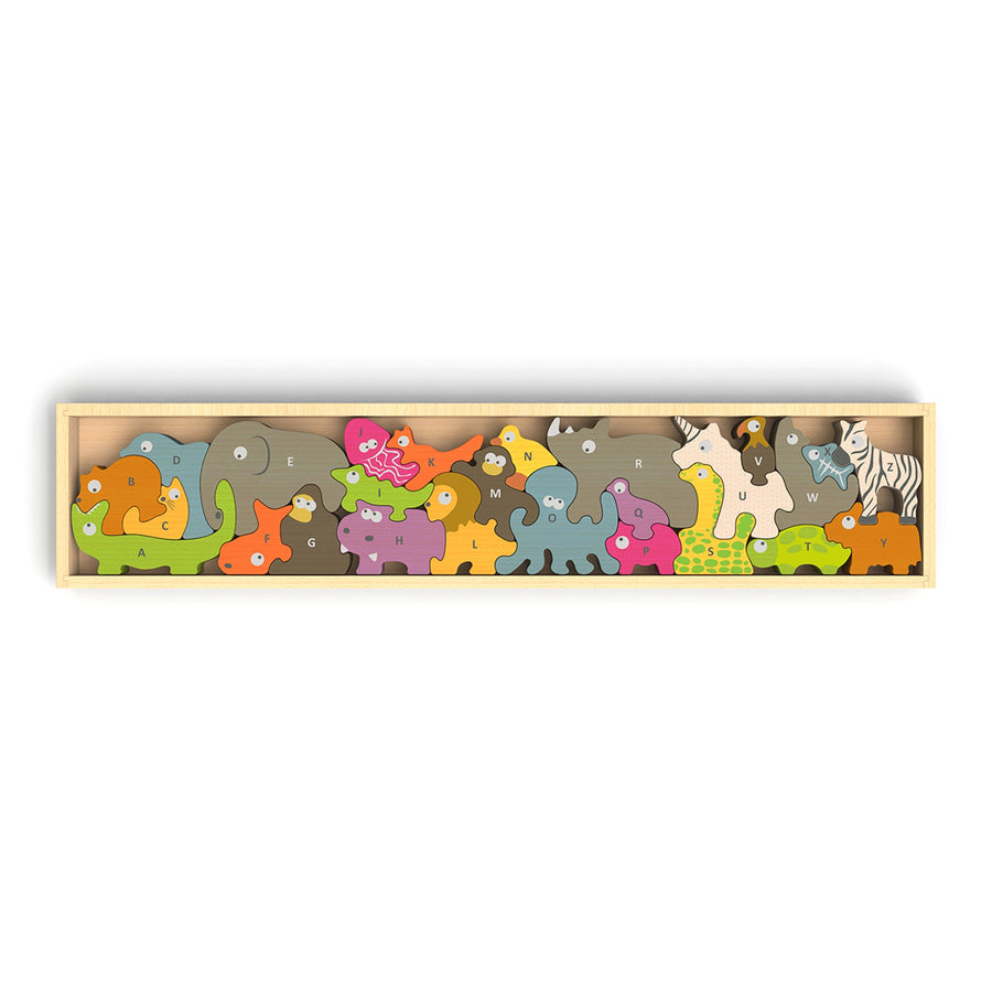 A-Z Animal Parade Puzzle