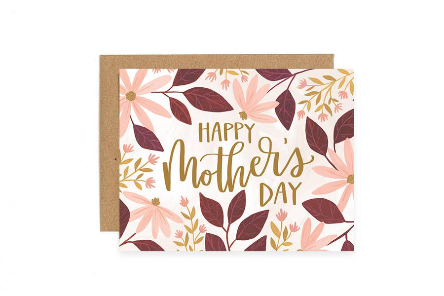 'Happy Mother's Day' Coneflower Card