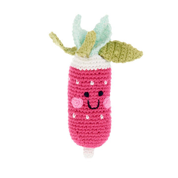 Friendly Radish Rattle