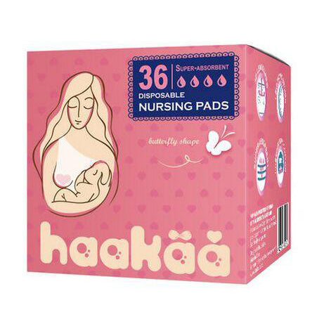 Disposable Nursing Pads Butterfly Shape - 36 Ct