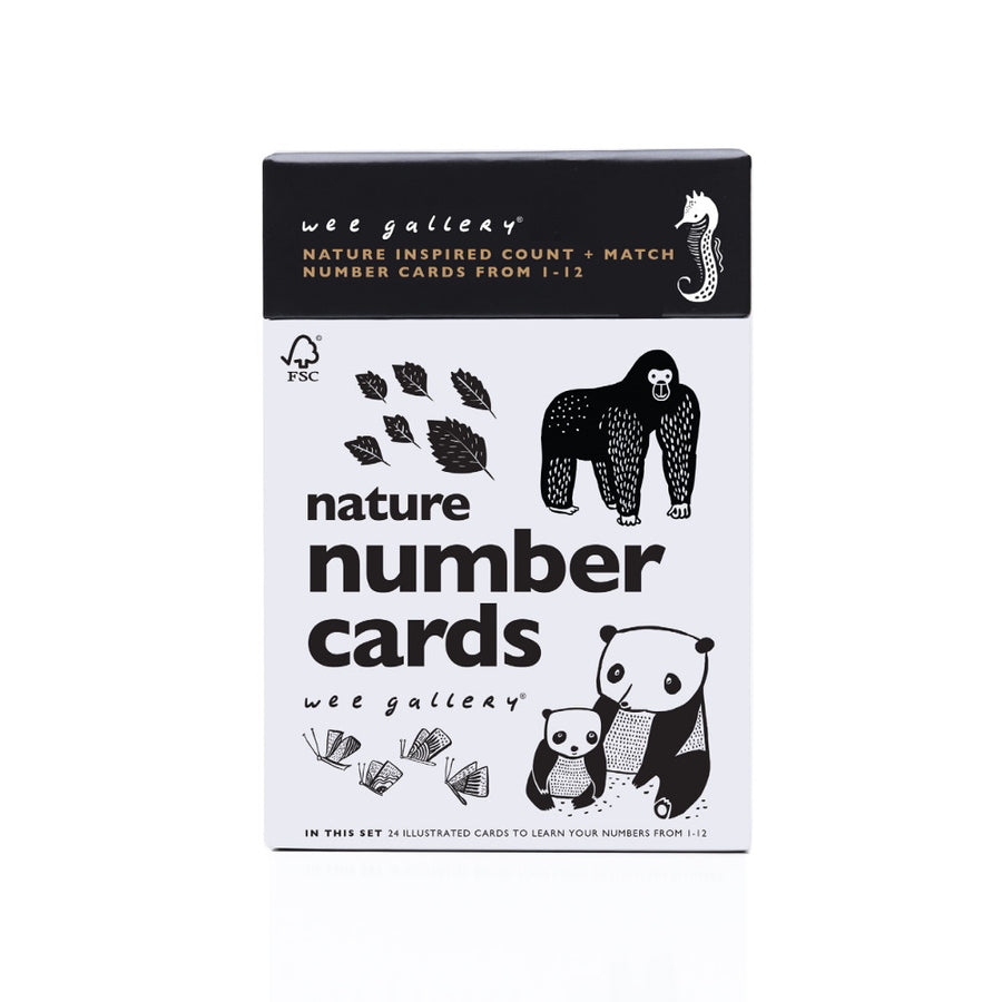 Nature Number Cards