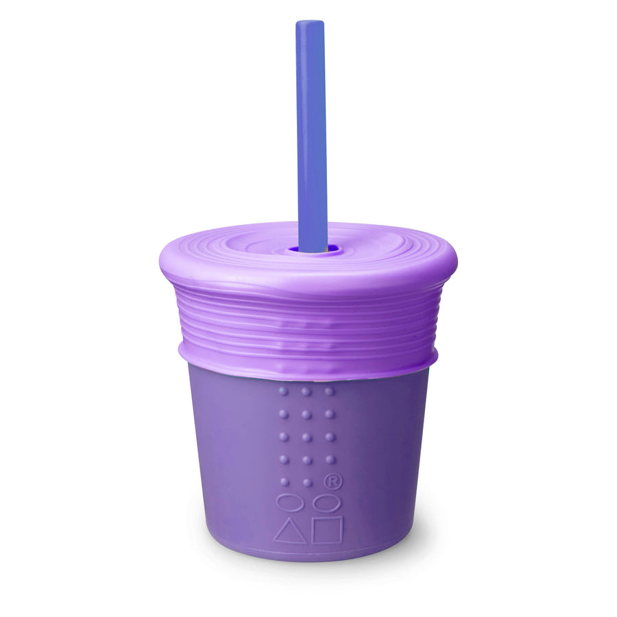 8 oz. Universal Straw Cup - Purple