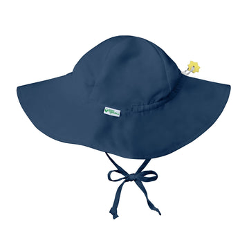 Brim Sun Hat - Navy