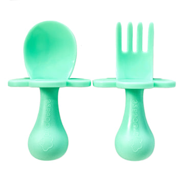 Mint To be - Toddler Fork & Spoon Set