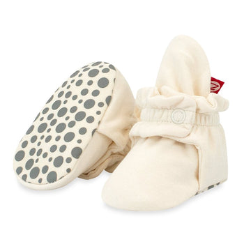 Organic Cotton Gripper Baby Bootie