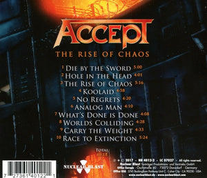 ACCEPT - THE RISE OF CHAOS - VINYL 2LP