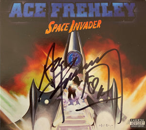 ACE FREHLEY - SPACE INVADER SIGNED CD
