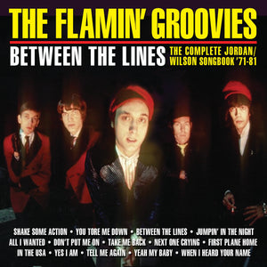 FLAMIN' GROOVIES - BETWEEN THE LINES: THE COMPLETE JORDAN/WILSON SONGBOOK '71-81 - CD