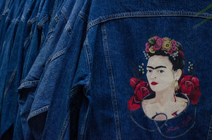 Levi's Frida Kahlo Denim Jacket