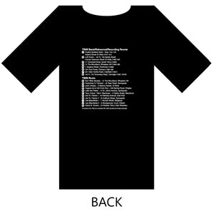 TISM - LOCATOR MAP - BLACK T-SHIRT - LTD EDITION