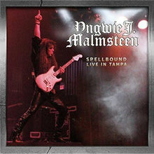 Load image into Gallery viewer, YNGWIE J. MALMSTEEN - SPELLBOUND LIVE IN TAMPA - 2CD PLUS DVD