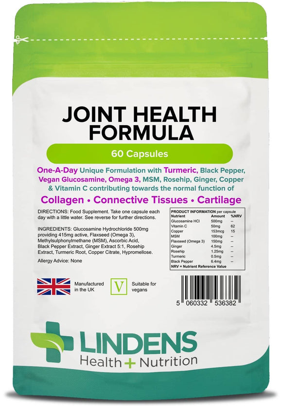 Joint Health Formula - Lindens Health + Nutrition