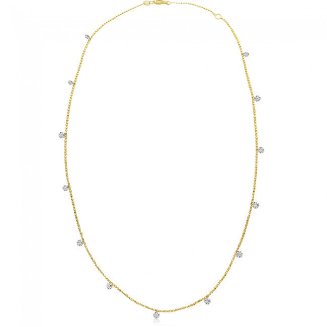 13 Diamonds by the Yard, Dashing Diamonds Necklace