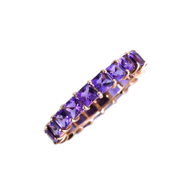 Amethyst Stack Ring