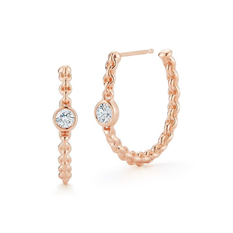Barbela Diamond Dani Hoops