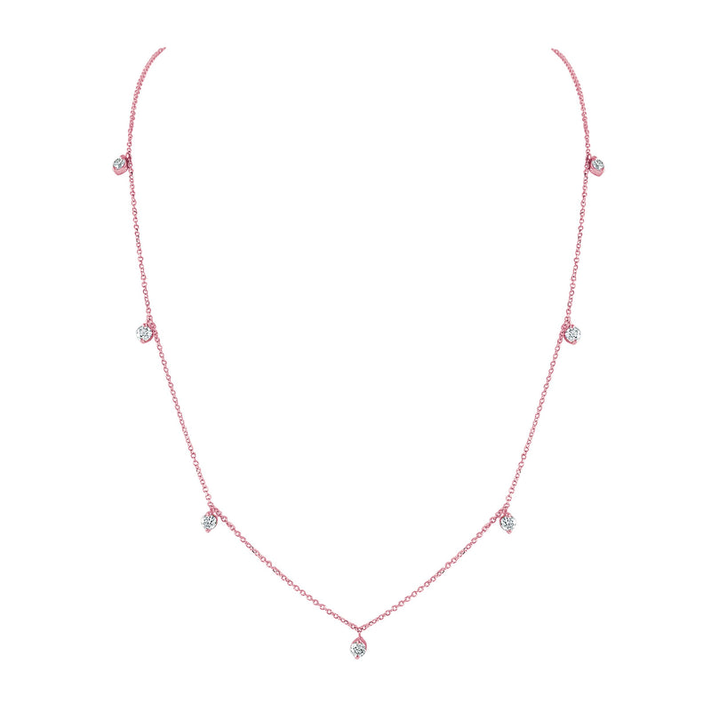 Sabrina Designs 14k Rose Gold Diamond Necklace