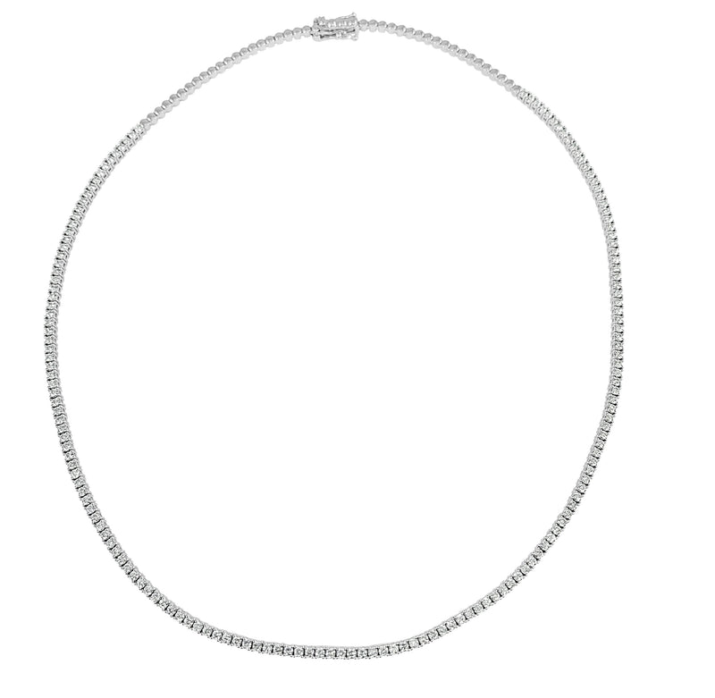 Sabrina Designs 14K White Gold Diamond Necklace