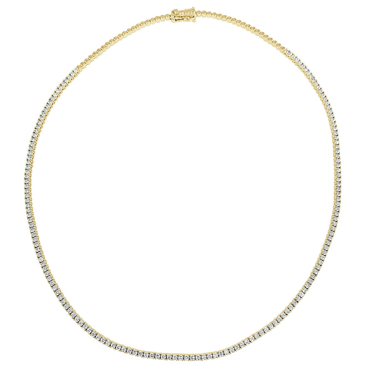 Sabrina Designs 14K Yellow Gold Diamond Necklace