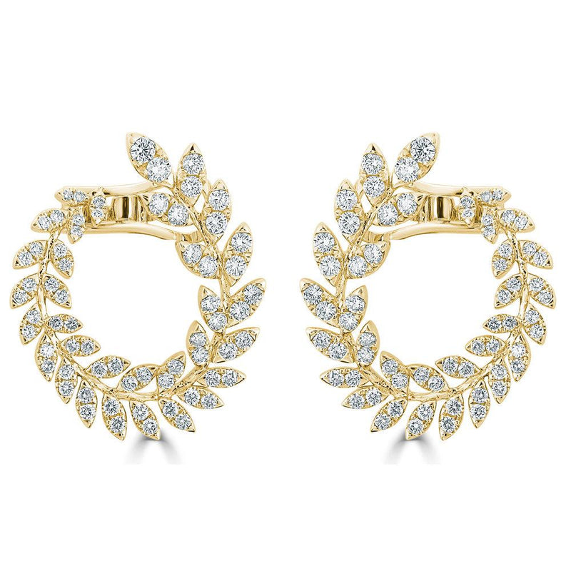 18K GOLD DIAMOND EARRING