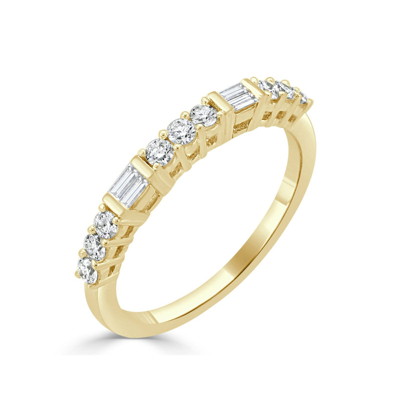 Sabrina Designs 18k Yellow Gold Diamond Stackable Ring