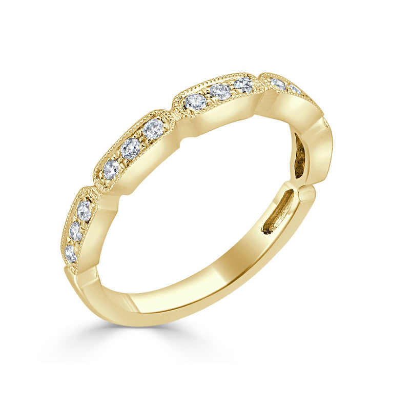 Sabrina Designs Platinum Diamond Stackable Ring