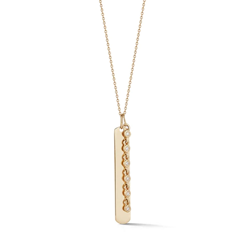 Dana Rebecca Designs Lulu Jack Vertical Bar Necklace