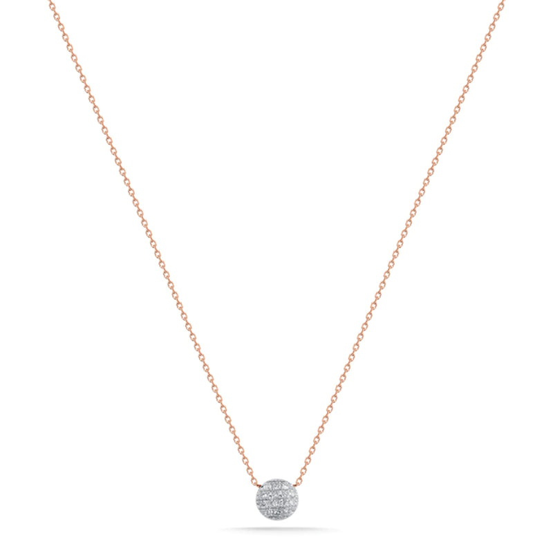 Lauren Joy Mini Disk Necklace