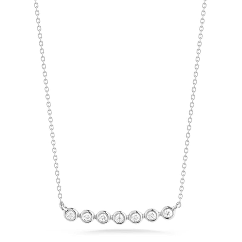 Dana Rebecca Designs Lulu Jack Bezel Bar Necklace