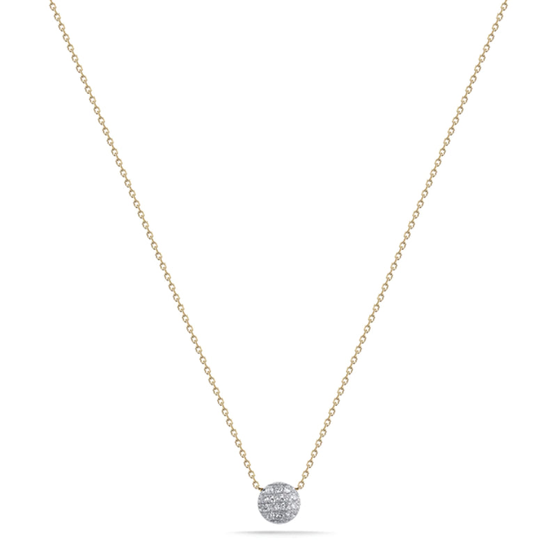 Dana Rebecca Designs Lauren Joy Mini Disk Necklace